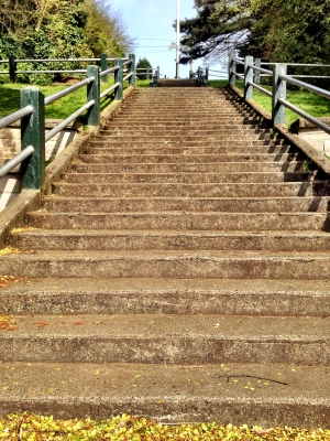 The uphill climb: my route home, after running 13.1 © Julie Christine Johnson 2014