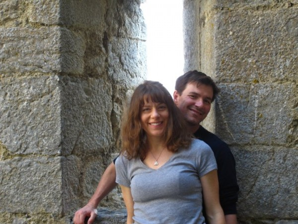 Brendan & Julie, Languedoc, France, April 2011