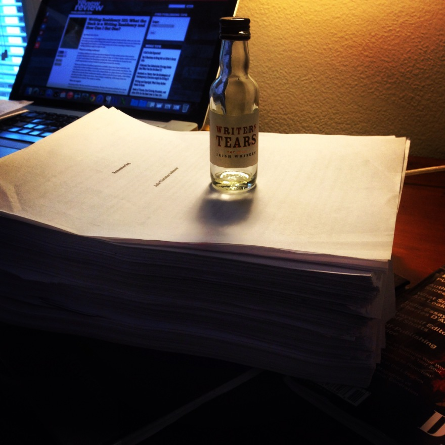 One month, four drafts, 1300 pages: First Round Edits