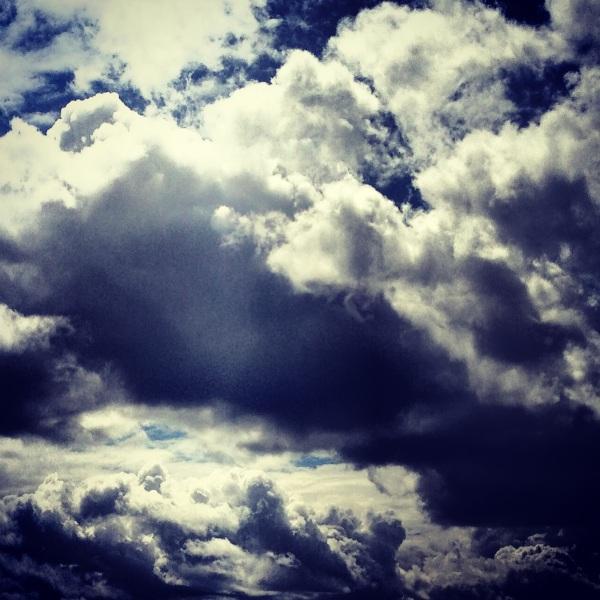Light through the clouds  © Julie Christine Johnson 2014